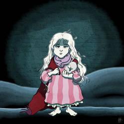 Angel's Egg - The Girl by Tabascofanatikerin