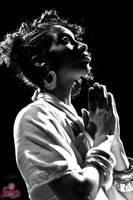 Ashaunti prays by GriotsHouseVince
