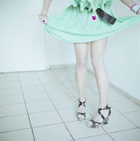 Legs at the kitchen by psychiatrique