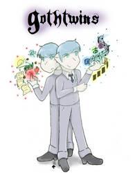 Gothtwins by Choco-la-te
