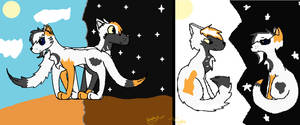 Then and Now by Flapper812-or-Shadow
