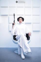 Leia Organa by Yuija