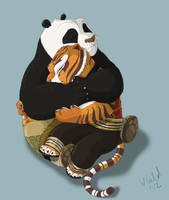 Cuddles by PrinzeBurnzo