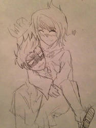Kurt x...Chica?! by Laila-sama