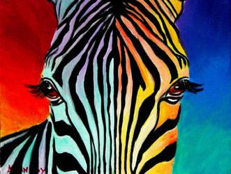 Zebra by dawgart