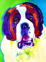 Saint Bernard by dawgart