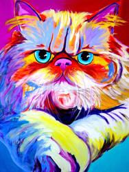 Persian Tigger by dawgart