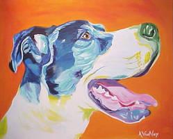 Angus - Orange by dawgart