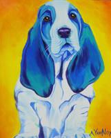 Ol' Blue by dawgart