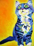 Here Kitty Kitty by dawgart