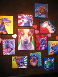 Puppy Love Show 1 by dawgart