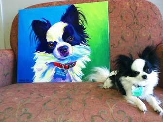 Esso Gomez and portrait by dawgart