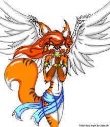 tribal Mya angel by mausaba