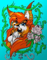 Mya portrait by mausaba