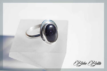 Night stone ring by BichoBolita