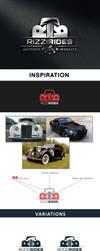 Rizzi Rides auction website LOGO by T-O-R-N-A-D-O
