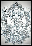 TATTOO - Alice in Wonderland [light] by mad-smile