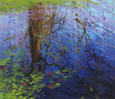 Reflections On A Quiet Pond by artaslife