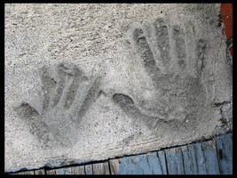 Hand Prints At Judi's by TheJenjineer