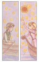 Tangled Bookmark by TheJenjineer