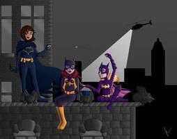 Batgirls by TheJenjineer