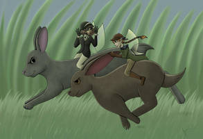 The Great Rabbit Race by TheJenjineer