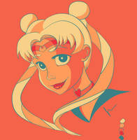 Palette Challenge - Sailor Moon by TheJenjineer