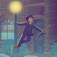 Gene Kelly by TheJenjineer