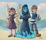 Heroes at the Lake by TheJenjineer
