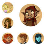 Patreon Badges by TheJenjineer