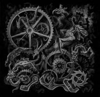 BLACKDEATH Inlay by PolarMaya