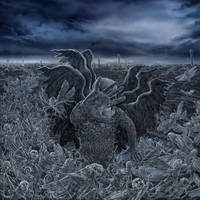 BLACKDEATH Phobos LP cover I by PolarMaya