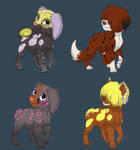 Dog Adoptables FREE (0/4 CLOSED) by 8976lacke