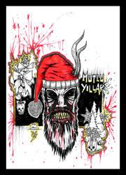 Bloody Santa by Asimetrikfantastik