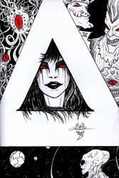 Daily Sketches / Doodles by Asimetrikfantastik