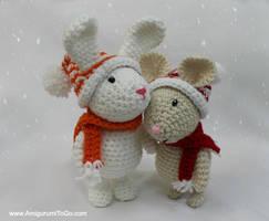 Winter Friends by sojala