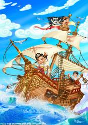 Little Pirates by Ilacha
