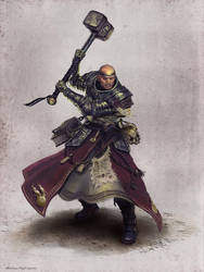 WarriorPriest Ilich Henriquez by Ilacha