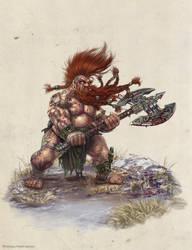 TrollSlayer Ilich Henriquez by Ilacha