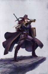 WitchHunter IlichHenriquez by Ilacha