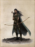 Najah, Elf Rogue-Ilich Henriquez by Ilacha