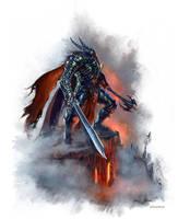 Death Knight IlichHenriquez by Ilacha