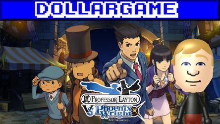 Dollargame - Professor Layaton Vs. Ace Attorney by Dollarluigi