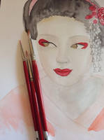 Geisha by AkumaRyoshi