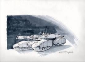 Mobile gun platform render by sitac01