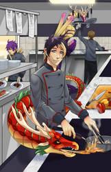Dragon Chef by Sunarue