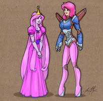 Princess Bubblegum Crisis by massgrfx