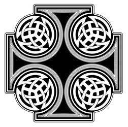 Celtic cross by snoopydoo