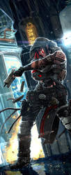 Gunslinger Adept by django-red