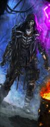 SR5 Chrome Flesh Ghoul by django-red